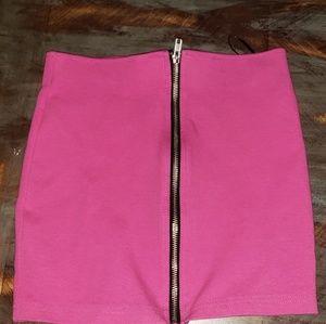 H&M pink Halter crop top